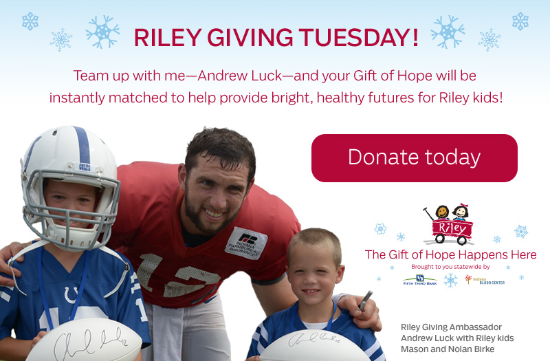 Riley's Giving Tuesday