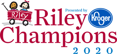 Riley Champions 2020 logo - presented by Kroger